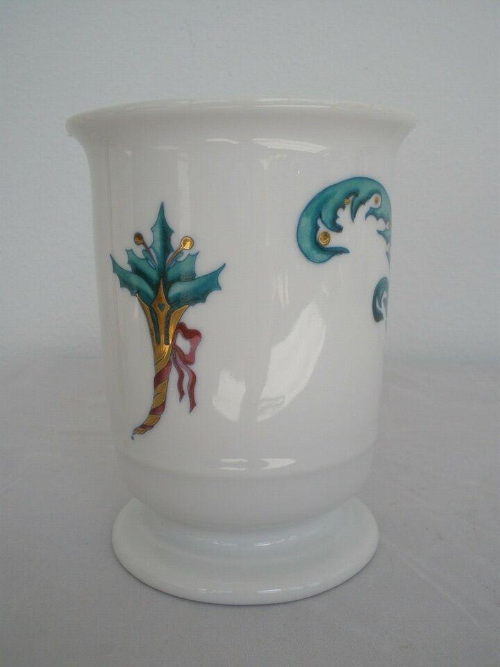 Porcelæn, Jingle Bells Vase nr 5436, Royal Copenhagen