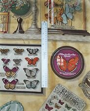 MANUEL CANOVAS BUTTERFLIES GLOBES PILLOW QUILTER CRAFTS FABRIC REMNANT MULTI