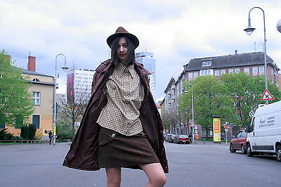 Favorit Anorak Giacca Parker Vento Giacca Cappotto 90s Truevintage Brown Jacket Coat-mostra Il Titolo Originale