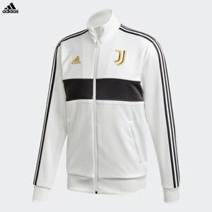Dettagli su Juventus Giacca 3S Track Bianca Gold Allenamento Stagione 2020/21 adidas Uomo