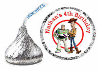 216 Toy Story Birthday Party Favors Hershey Kiss Labels