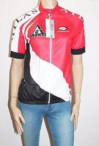 PARENTINI Designer Performer Power Cycling Micron Jersey Zip Front Size L BNWT