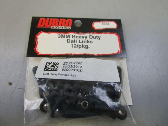 12 Dubro Heavy Duty Ball Links 4-40 DUB900