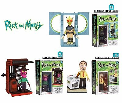 McFarlane Toys RICK AND MORTY Building Micro Construction Set Case of 3