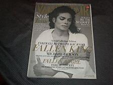 2009 SEPTEMBER VANITY FAIR MAGAZINE - MICHAEL JACKSON FRONT COVER - O 7042