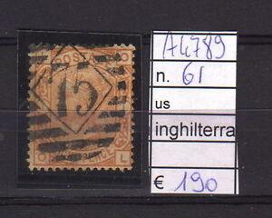 FRANCOBOLLI-INGHILTERRA-USATI-N-61-A4789