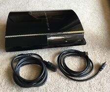 Playstation 3 Original Console As Is With Cords