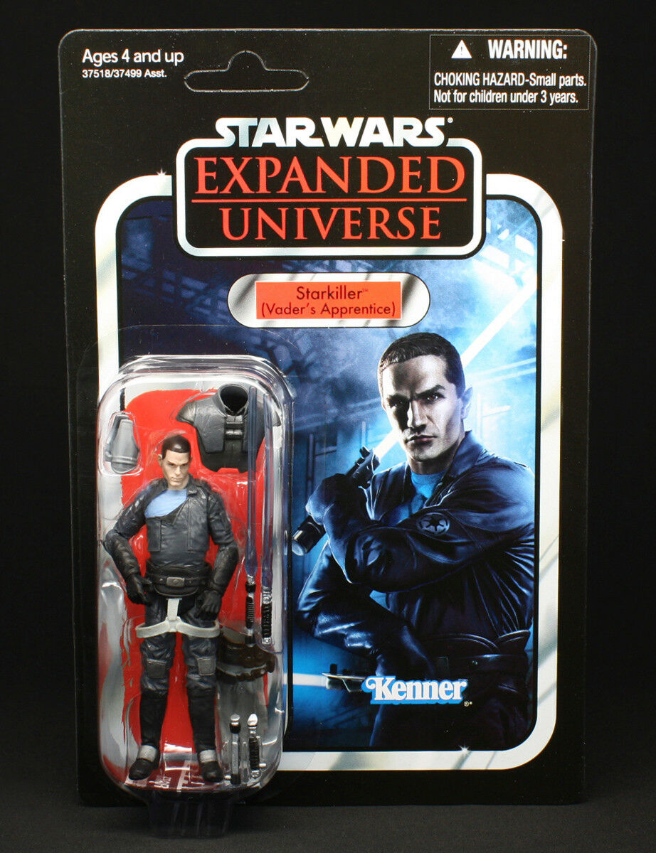 New  unpunched  star wars starkiller vc100-vintage collection hasbro figure