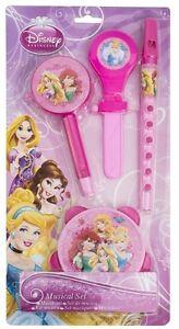 Disney-Princess-4-teiliges-Musik-Set-NEU