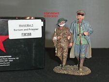 King and Country fw168 WWI tedesco Bantam + PRIGIONIERO SOLDATINO Set