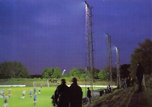 Non-League-Football-Ground-Postcard-Tooting-amp-Mitcham-FC-Sand-Lane-London