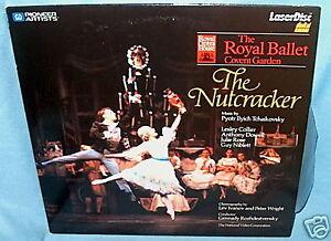 LD-laserdisc-NUTCRACKER-Royal-Ballet-LESLEY-COLLIER