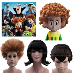 Image Is Loading Wig For Cosplay Hotel Transylvania Johnny Mavis Dennis