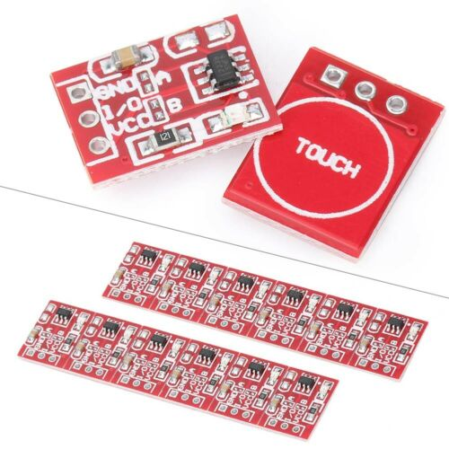 Sensors TTP223 Capacitive Touch Switch Button Self-Lock Module ...