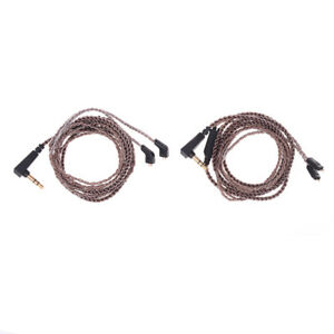Oxygen-free-copper-audio-earphone-upgrade-cable-cord-for-kz-zs5-zs6-zsr-zs1-HF