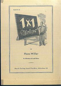 034-Einmal-Eins-034-Walzer-von-Hans-Willer