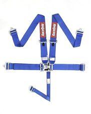 Blue Racequip 5 point Racing Harness Seat Belts 711021 CURRENT SFI DATES Razor