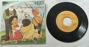 ELISABETTA-VIVIANI-7-034-HEIDI-45-GIRI-VINYL-ITALY-1978-RCA-BB6151-NM-NM
