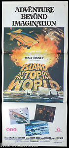 ISLAND-AT-THE-TOP-OF-THE-WORLD-Original-Daybill-Movie-Poster-Sci-Fi-Disney