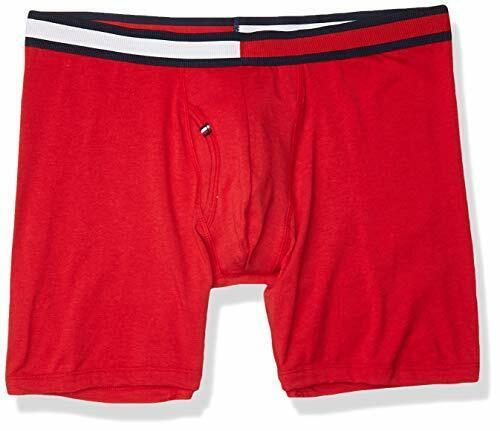 Mahogany Tommy Hilfiger Men/'s Underwear Cool Stretch Boxer Briefs M