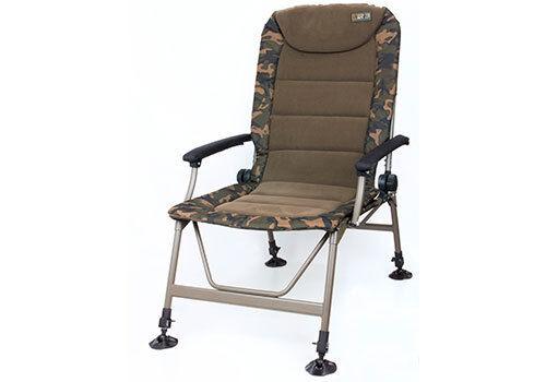 CBC062 Carp Fishing Fox R3 Camo Recliner Chair
