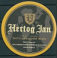 HERTOG JAN DUTCH BEER, BEERMAT/COASTER NEW-UNUSED -GV 110613