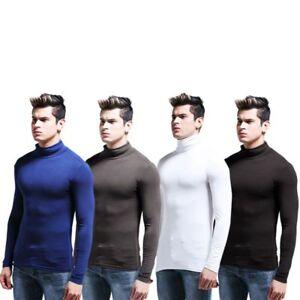 Winter-Men-Long-Sleeves-Warm-Turtleneck-Shirts-Underwear-Tailored-Slim-Fit-Tops