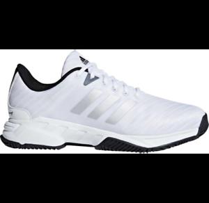 Mens Adidas Barricade Court 3 Wide White Sport Tennis Athletic Shoe CM7817 9-13