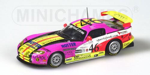 Dodge Viper GTS-R Seiler-Brun  Daytona  2000 (Minichamps 1 43   430 001446)