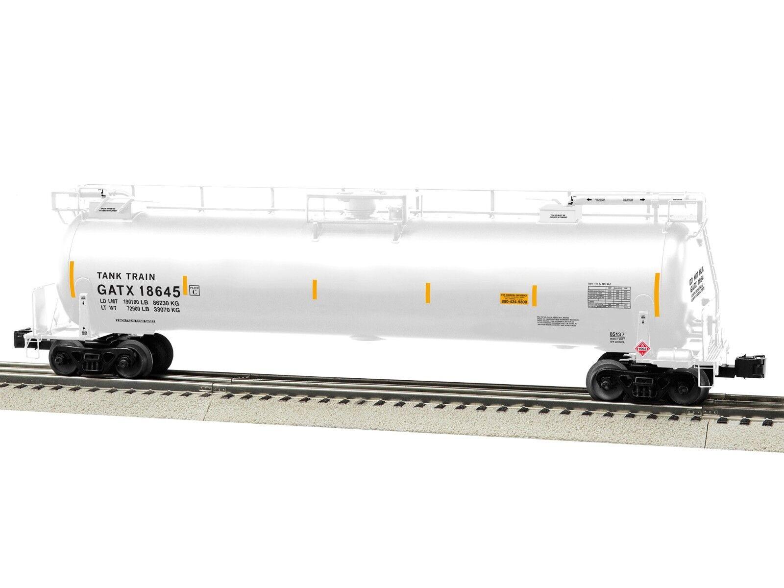 OGaugeLionelGATX tanktrain intermedio AUTO  18645