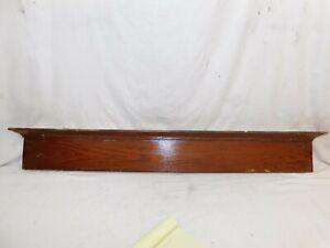 Image Is Loading 1900 039 S Antique DOOR PEDIMENT Lintel Header