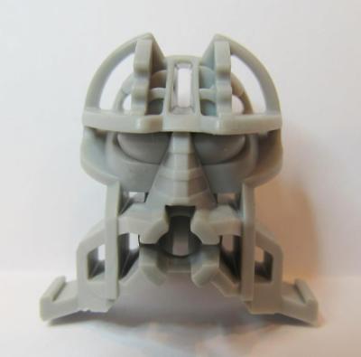 LEGO Light Gray Bionicle Connector Head Block Piece