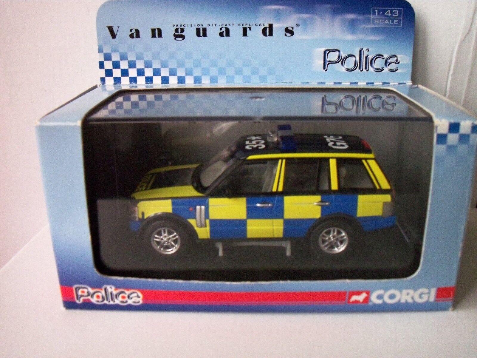 CORGI  VANGUARD  VA09609  RANGE  ROVER   CAMBRIDGESHIRE  POLICE