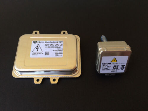 New OEM 08-10 VW Touareg Xenon HID Headlight Ballast /& Osram D1S Bulb Kit