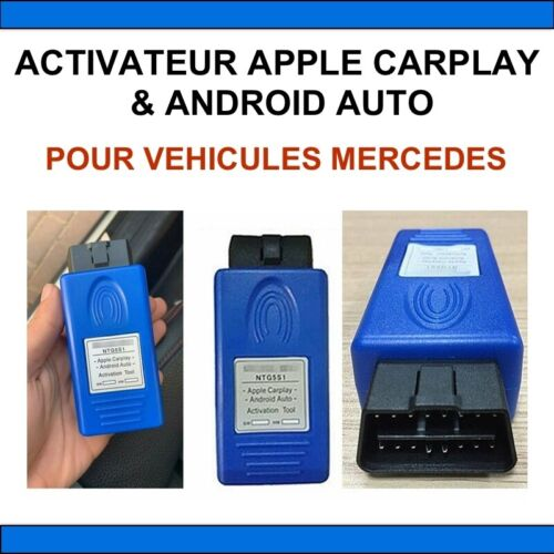 Activateur Apple CarPlaY /& Android AUTO-spécial pour Mercedes Benz