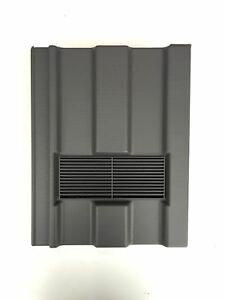 Roof Tile Vent To Fit Marley Ludlow Major Grey Smooth