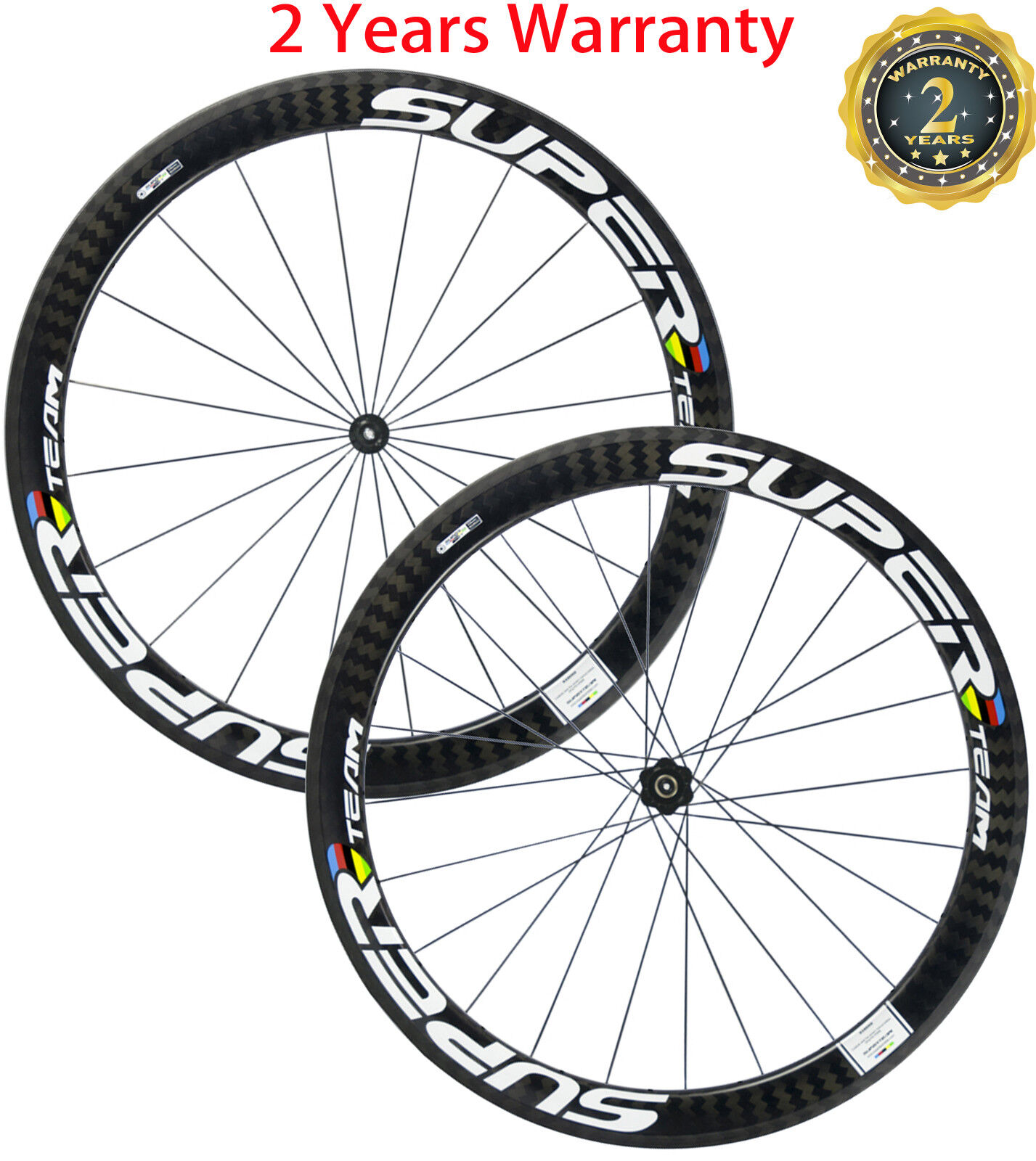 Superteam Carbon Wheels 50mm Clincher  Road Bike Wheelset DT350s Bicycle Wheelset  sale with high discount