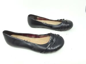New-Women-039-s-Mudd-Mohattie-73277-Black-Ballet-Flats-W35