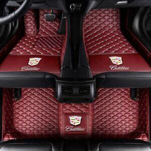 Suitable-for-Cadillac-CTS-ATS-CT6-CTS-STS-XT5-XTS-2008-2018-floor-mat-car-mat