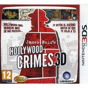 James-Noir-039-s-Hollywood-Crimes-3D-Nintendo-3DS-Nuevo
