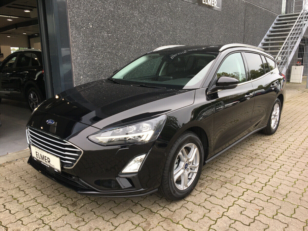 Ford Focus 1,0 EcoBoost Connected stc. 5d - 266.290 kr.