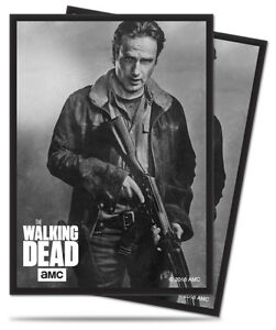 The-Walking-Dead-Rick-Ultra-Pro-Standard-Deck-Protector-Sleeves-50-in-Pack