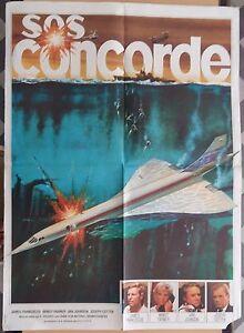 Affiche-SOS-CONCORDE-James-Franciscus-MIMSY-FARMER-Venantino-Venantini-60x80cm