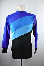 80s Santini vintage Cycling jersey Gr. 2 M Rad Trikot 100% Acrylic Acrylique