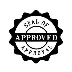 Seal Of Approval Stamp