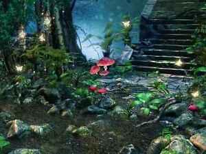 Wall-Mural-Children-Fairy-Forest-Nature-Repositionable-Vinyl-Interior-Art-Decor
