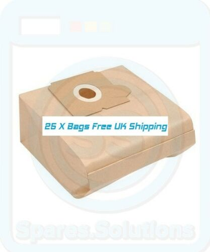 E53 Type Vacuum Cleaner Dust Bags for Electrolux Z4492 Z4493 Z4494 Pack Of 25