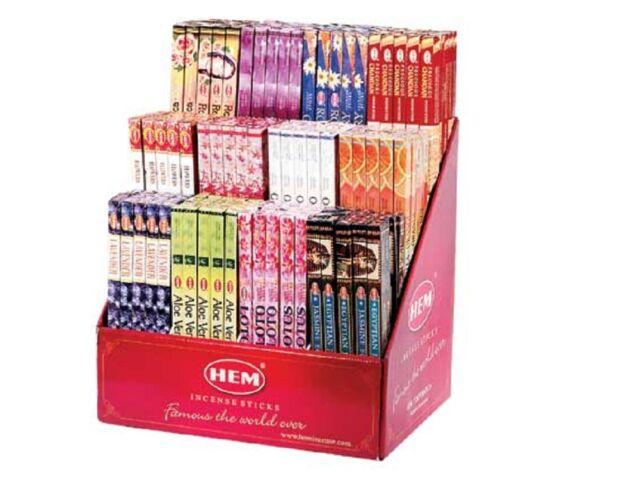 BULK 12 Boxes of 8 gram Incense YOUR CHOICE * Hem * Padmini * Kamini UPDATED