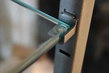 Slatwall Metal Glass Shelf Support Pegs Leftright W Rubber Set 4 Pegs Each
