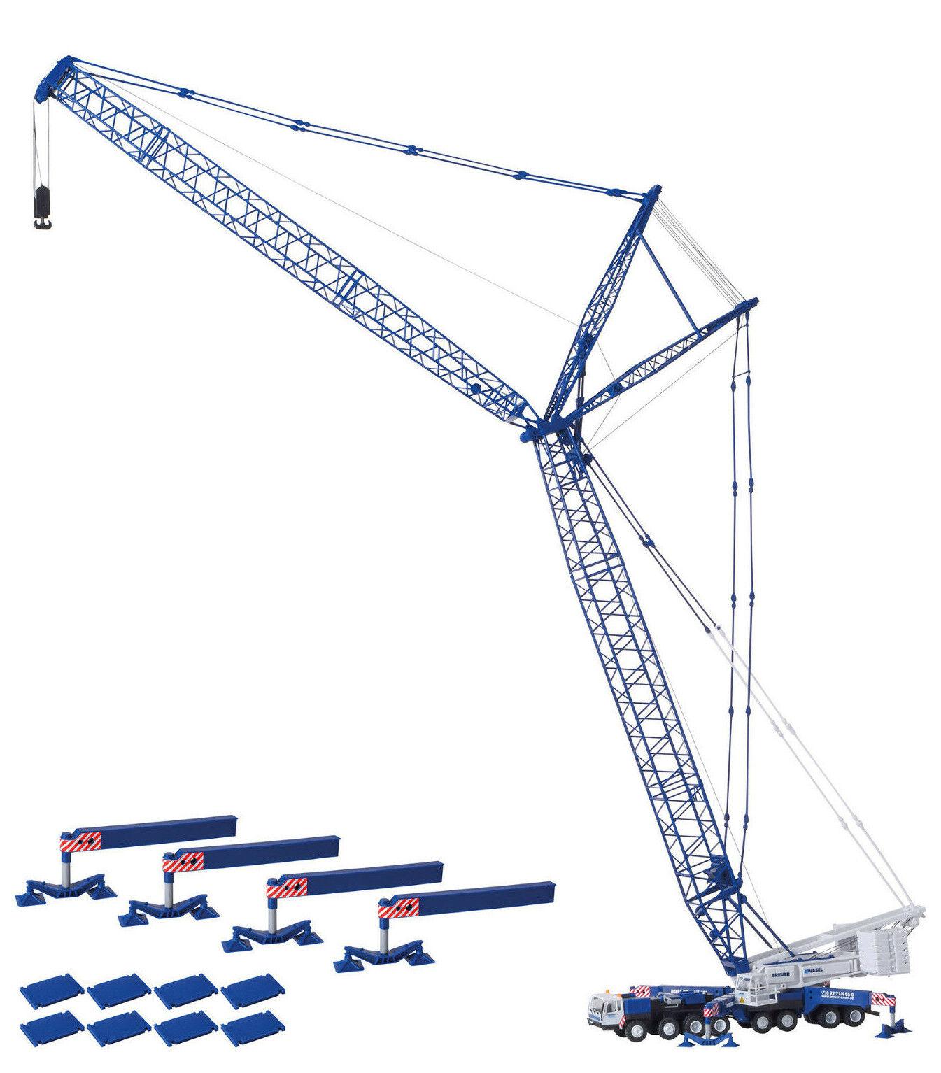 Kibri 13061 Liebherr Lg 1550 Breuer & Wasel , Kit Construcción, H0, Novedad